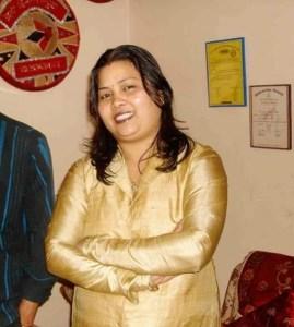 Bhitali Das at her home