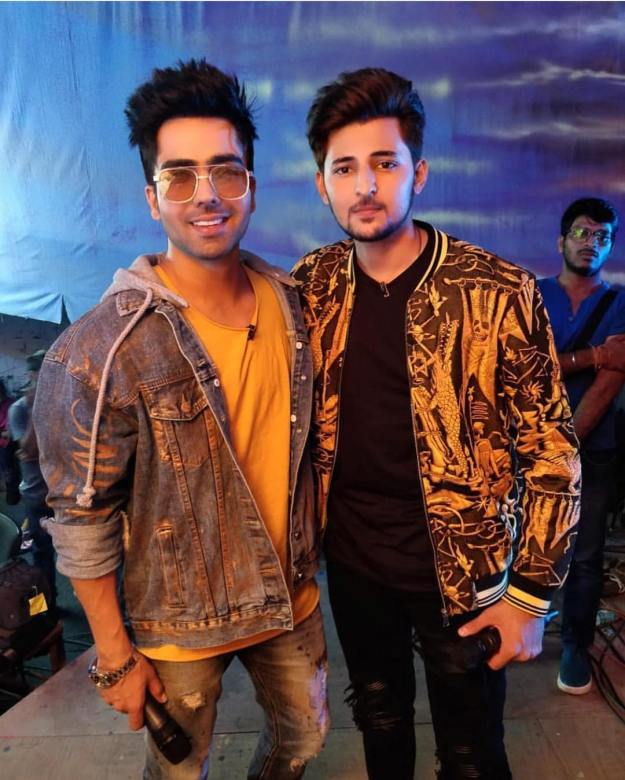 Hardy Sandhu with Darshan Raval