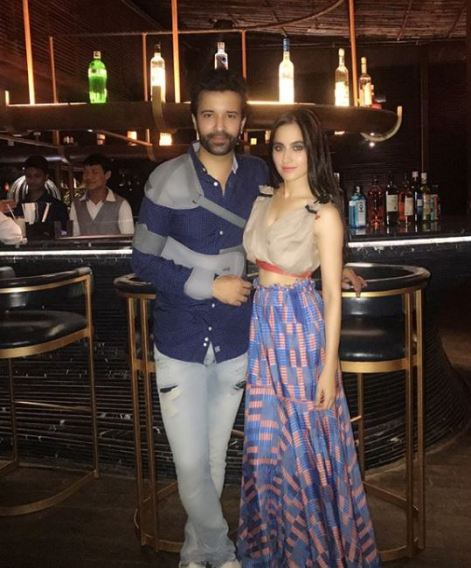 Sanjeeda with Husband