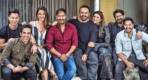 Rohit Shetty with Golmaal Team