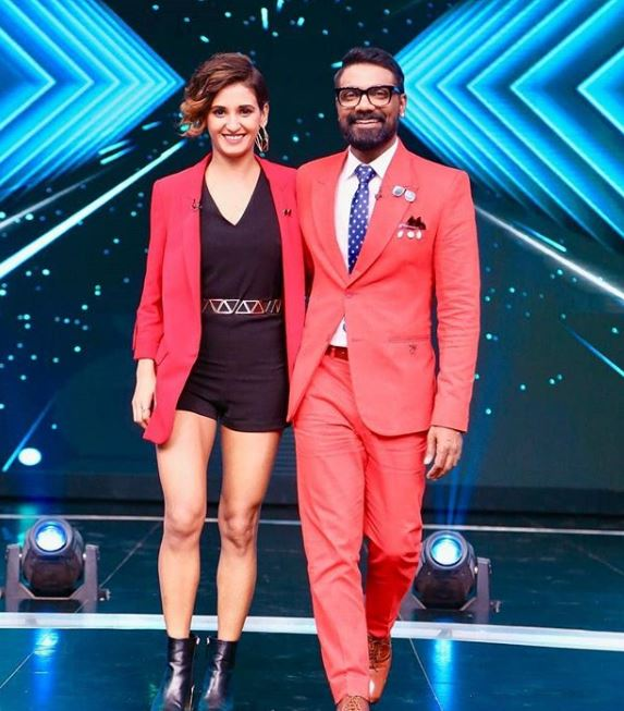 Shakti Mohan with Remo