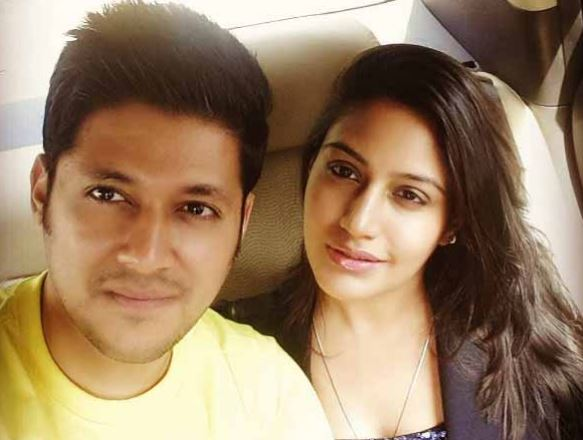 Surbhi Chandna with boyfriend