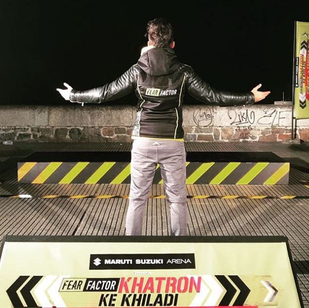 Zain Imam in Fear Factor