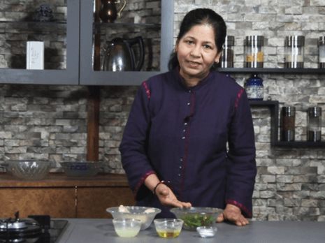 Nisha Madhulika - Indian chef, YouTube personality