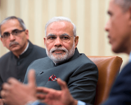 Obama Meets with Narendra Modi