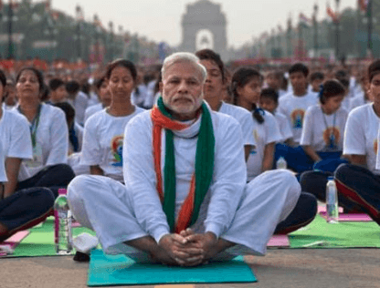 International Yoga Day - Narendra Modi