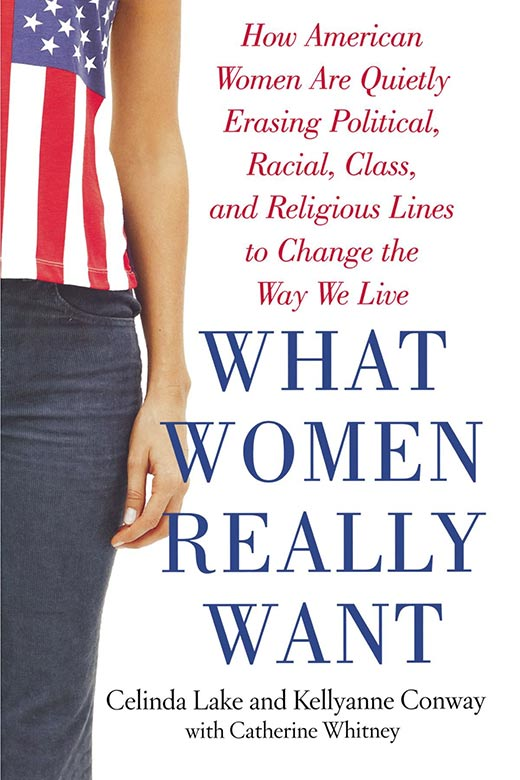 "Kellyanne Conway's book ""What women really want"""