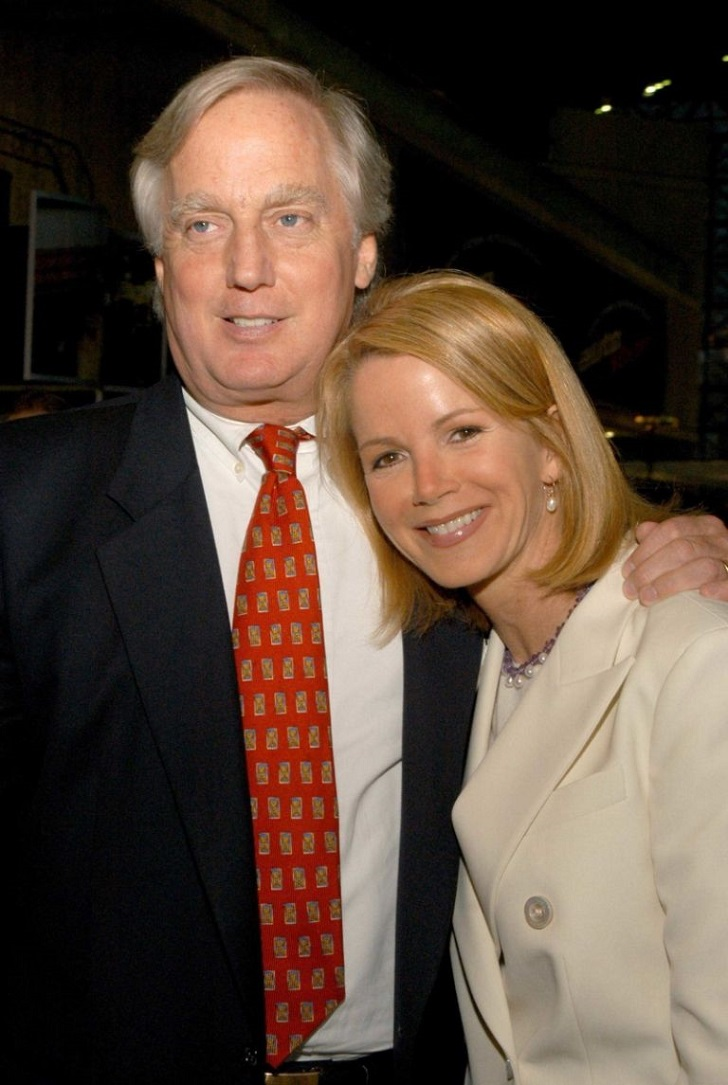 Robert Trump with his wife.