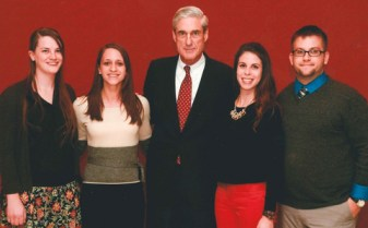 Robert Mueller with his family.