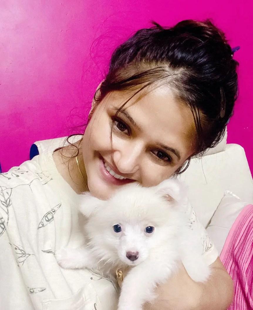Anjali Raghav Dog