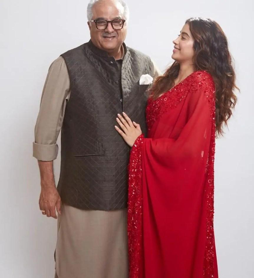 Jhanvi Kapoor Father