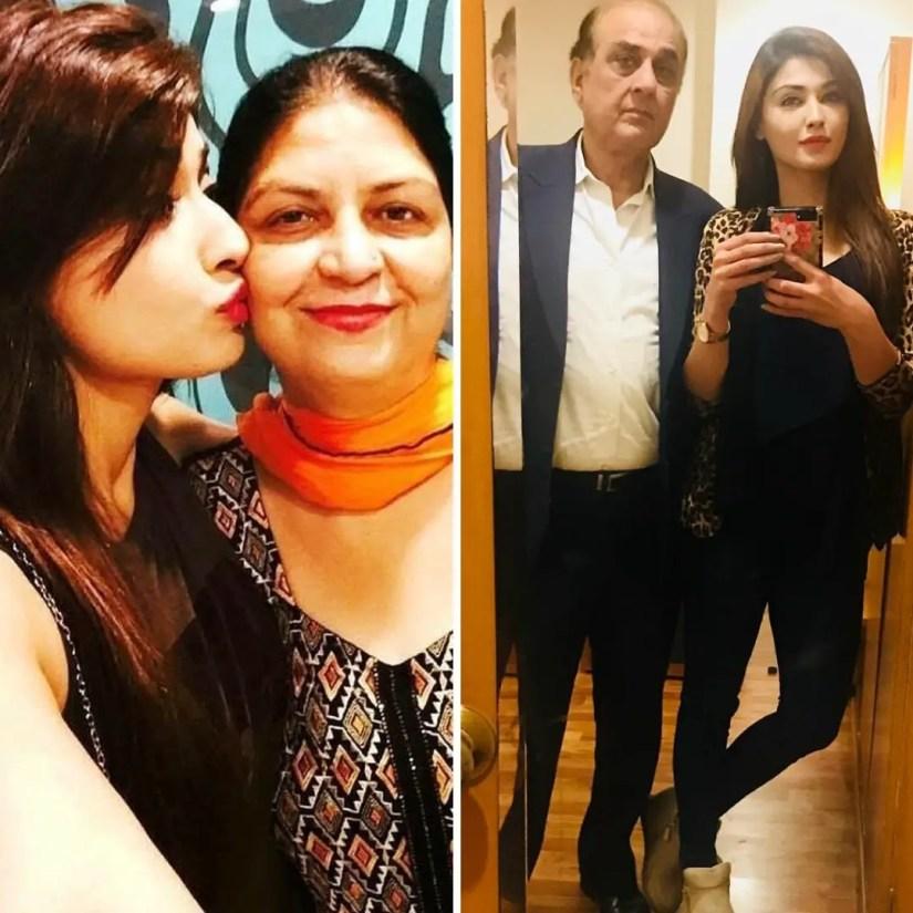 Nikita Sharma Family