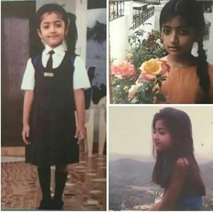 Rashmika Mandanna Childhood