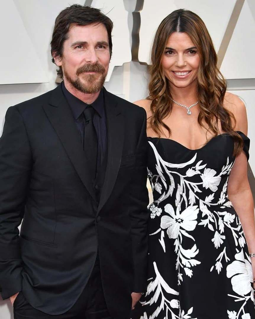 Sibi Balzic and Christian Bale