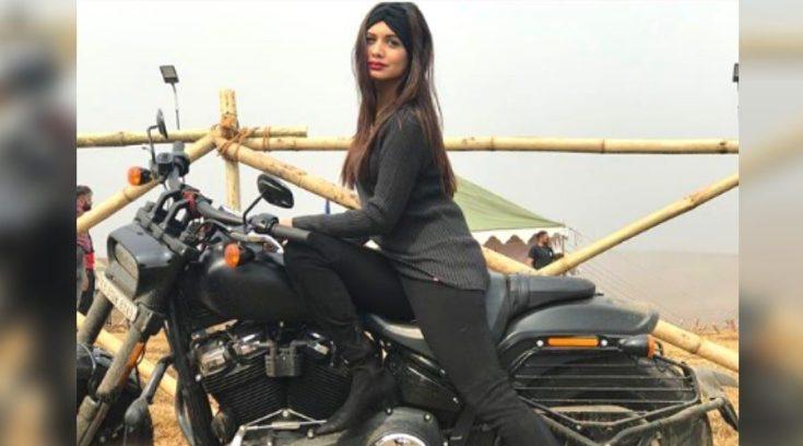 Divya Agarwal bike