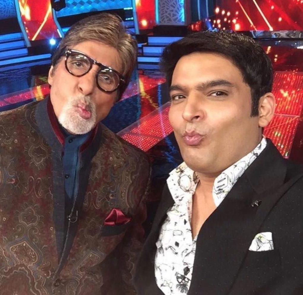 Kapil Sharma with Bollywood King Amitabh Bachhan