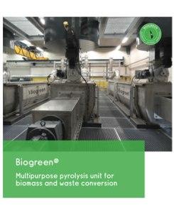 熱分解装置 Biogreen プレぜン バイオマス熱分解 2018.1.8