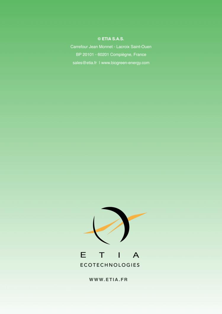 ETIA Biogreen 熱分解装置 2018.2.2