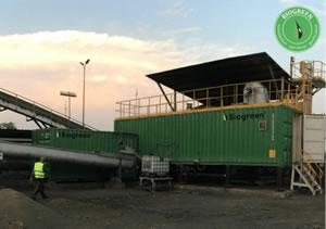 木質バイオマス 熱分解 炭化 Biogreen 熱分解装置 2018.2.1
