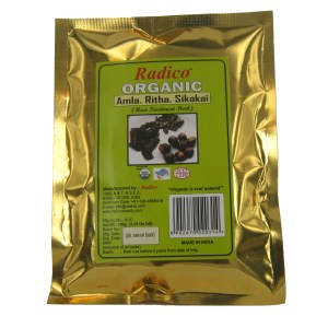 Organic Amla Ritha Shikakai mix powder