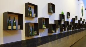 Sammlung von Sidra-Flaschen