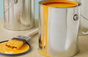 Paint Orange with Brush