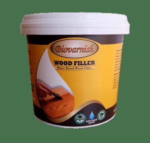 biovarnish wood filler, dempul kayu water based untuk kayu kusen