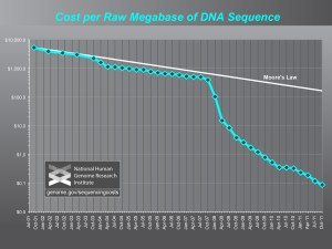 Coût d'un Megabase