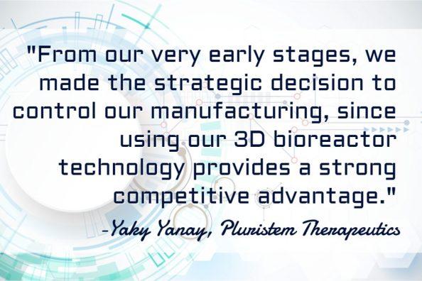 Pluristem Therapeutics Manufacturing