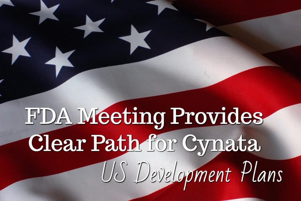 FDA Meeting Provides Clear Path for Cynata US Development Plans