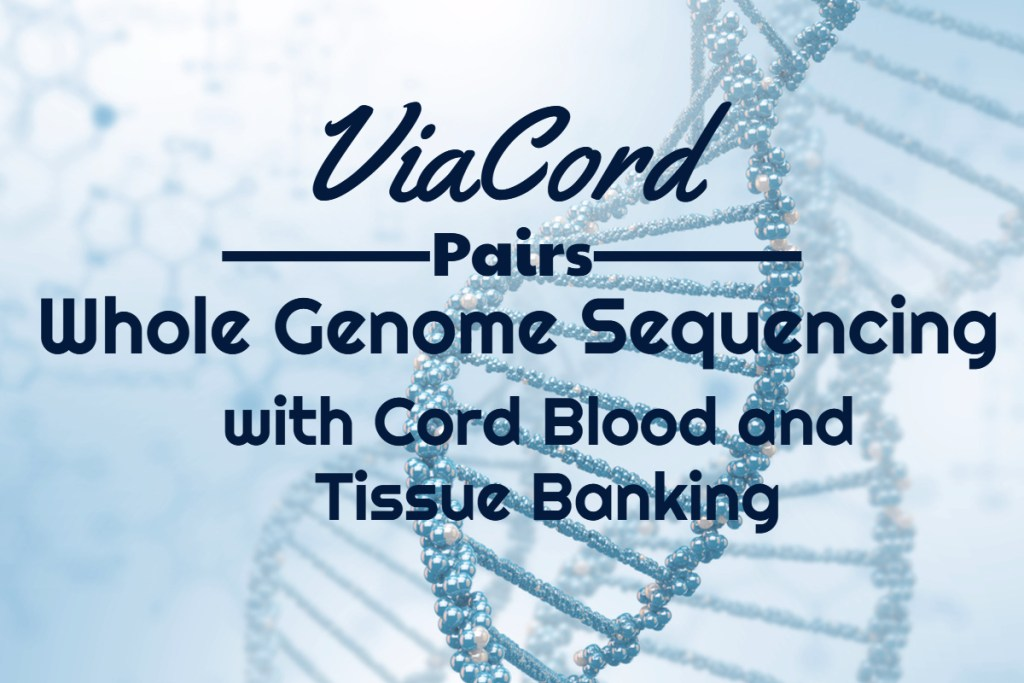 PerkinElmer Pairs Whole Genome Sequencing with Cord Blood and Tissue Banking