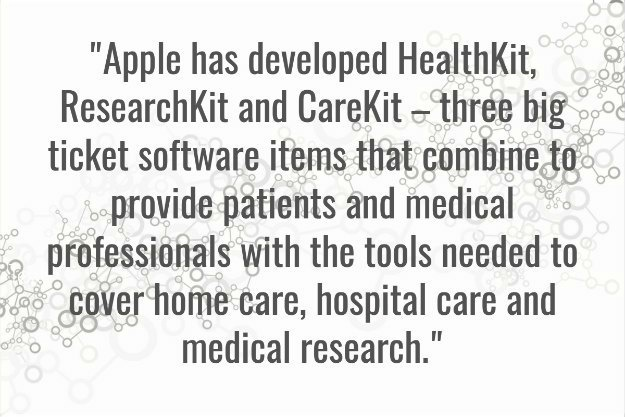 Apple Healthcare Software | How Amazon, Google, And Apple Are Covertly Tackling The Healthcare Sector