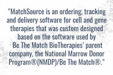 MatchSource - NMDP, Be The Match