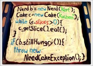 Nerd-Kuchen