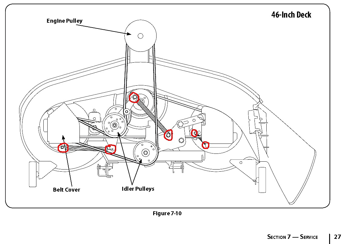 mtd lawn mower belt diagram true t 23f 2 wiring 46 inch craftsman deck  decks ideas