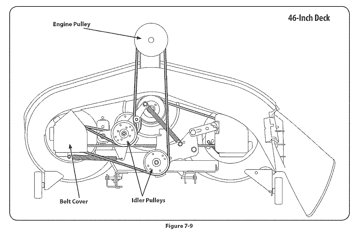 hight resolution of mtd belt replacement diagram wiring diagram portal mtd belt replacement diagram 46 inch mtd 42 belt