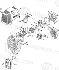 Stihl Ht 101 Parts Diagram Service Manual