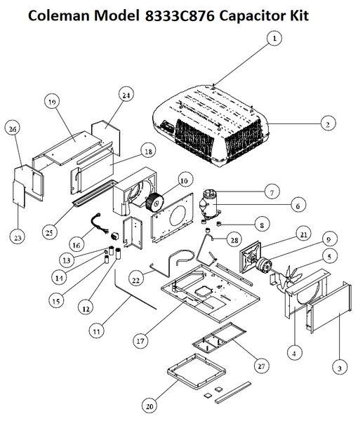 Coleman Rv Air Conditioner Parts Manual