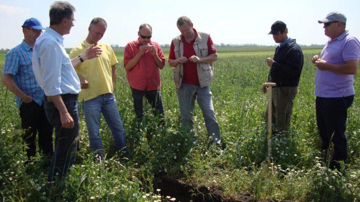 Bodenbeurteilung am Acker © Bio Austria
