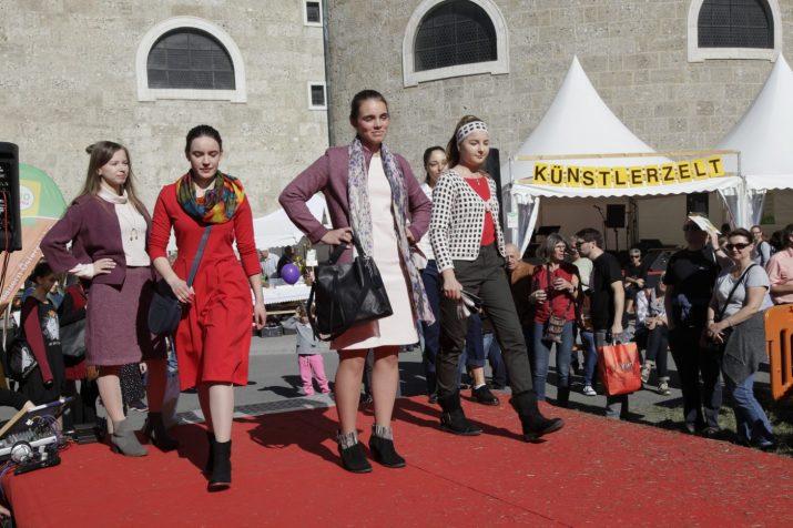 Modeschau der Mode-Schülerinnen © Markus Danner