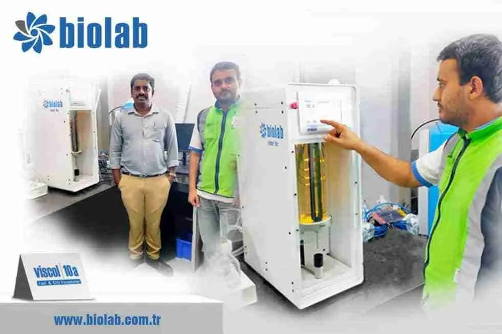 Kinematic Viscometer Installation For In-Service Oil Analysis