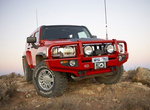 ARB Hummer in the Outback