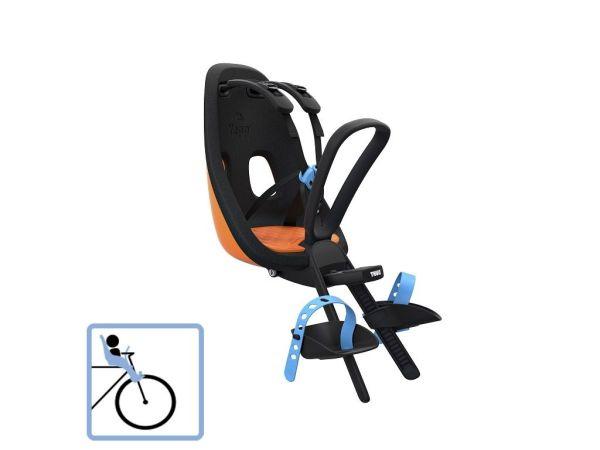 Dječja sjedalica prednja za upravljač Thule Yepp Nexxt Mini narančasta