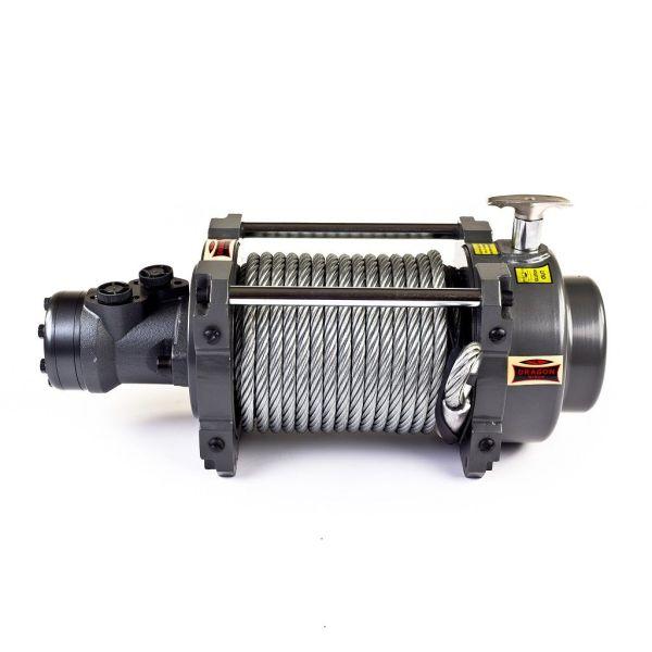 Vitlo Dragon Hidra DWHI 18000 HD, hidraulično, 8.165 kg, sa čeličnom sajlom, vodilicom, bez kontrolnog seta