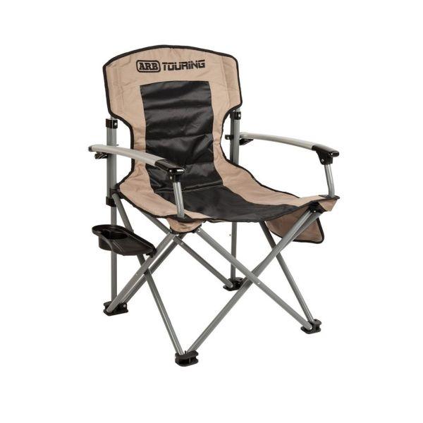 ARB sklopiva stolica za kampiranje krem do 150kg