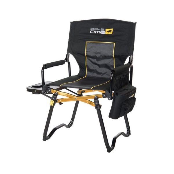 ARB sklopiva stolica za kampiranje crna do 150kg