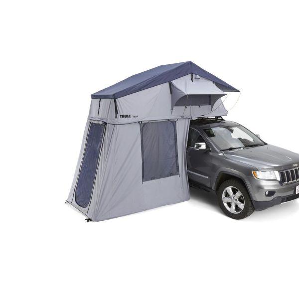 Thule Tepui Autana 4 krovni šator sivi za četiri osobe s dodatnim predprostorom