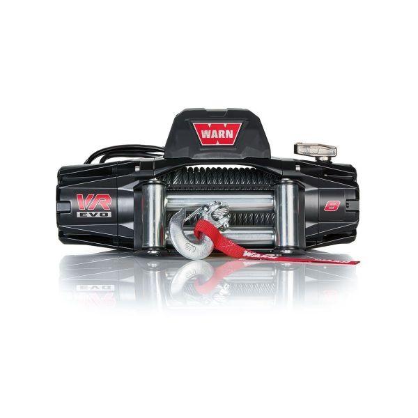 Vitlo Warn VR EVO 8, 12V, 3.629kg sa sajlom, vodilicom i žičnim i bežičnim daljinskim