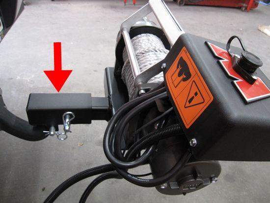 Adapter za multimount univerzalni nosač vitla za kuku vozila