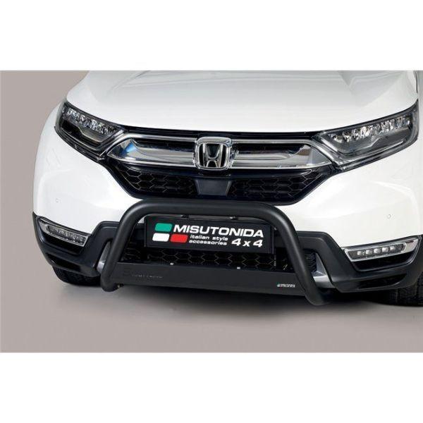 Misutonida Bull Bar Ø63mm inox crni za Honda CR-V Hybrid 2019 s EU certifikatom